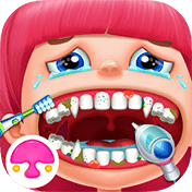 Crazy Dentist Salon Girl Game