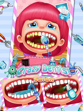Crazy Dentist Salon Girl Game скриншот 2