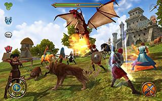 3D MMO Celtic Heroes скриншот 2