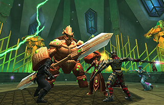 3D MMO Celtic Heroes скриншот 4
