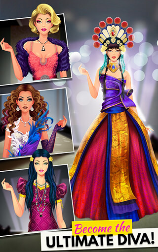 Fashion Diva: Dressup and Makeup скриншот 3