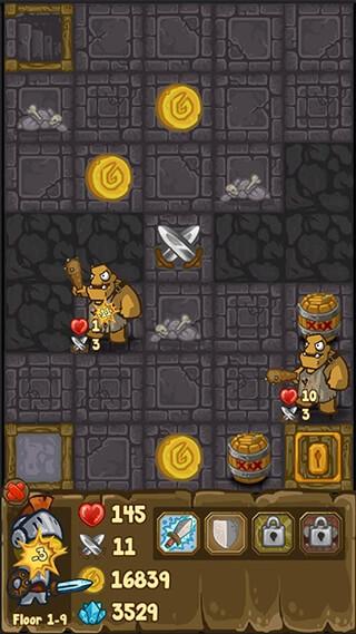 Dungeon Loot: Dungeon Crawlers скриншот 1