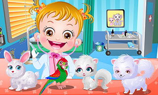 Baby Hazel: Pet Doctor скриншот 1