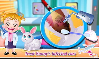 Baby Hazel: Pet Doctor скриншот 3
