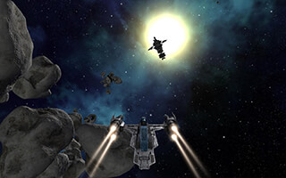 Vendetta Online: 3D Space MMO скриншот 1
