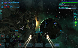 Vendetta Online: 3D Space MMO скриншот 2
