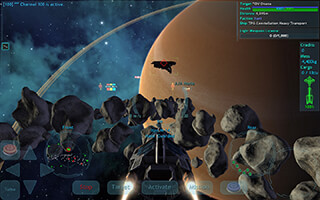 Vendetta Online: 3D Space MMO скриншот 3