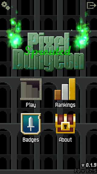 Sprouted Pixel Dungeon скриншот 1