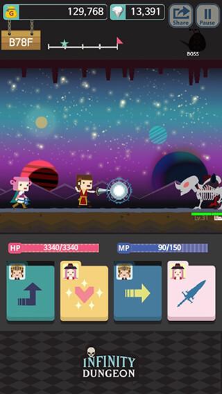 Infinity Dungeon: Evolution скриншот 2
