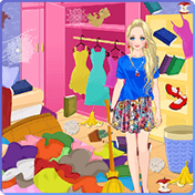 Уборка в спальне (Messy House: Bedroom Cleaning)