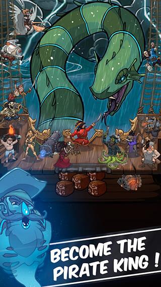 Clicker Pirates скриншот 1