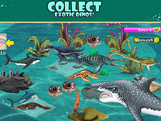 Jurassic Sea скриншот 2