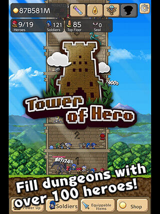 Tower of Hero скриншот 3