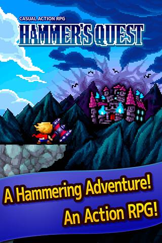 Hammer's Quest скриншот 1