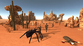 Spider Simulator 3D скриншот 2