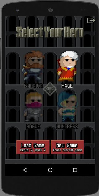 Unleashed Pixel Dungeon скриншот 2