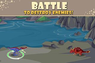 Dino Battle скриншот 2