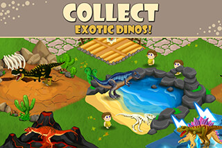 Dino Battle скриншот 3