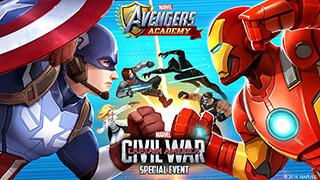 Marvel: Avengers Academy скриншот 1