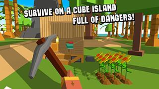 Cube Island: Survival Simulator скриншот 1