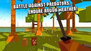 Cube Island: Survival Simulator скриншот 3