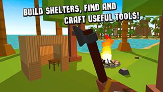 Cube Island: Survival Simulator скриншот 4