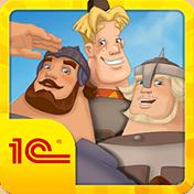 Три богатыря: Игра иконка