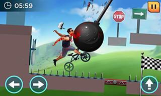 Crazy Wheels скриншот 1
