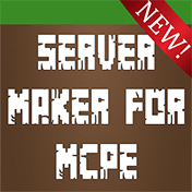 Server Maker For Minecraft PE, Pocket Edition иконка