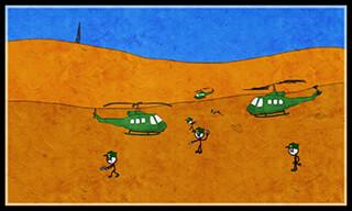 Stickman Plane скриншот 4