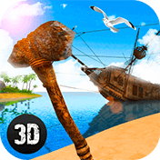 Pirate Island Survival 3D иконка