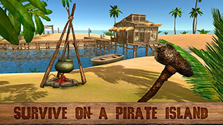 Pirate Island Survival 3D скриншот 1