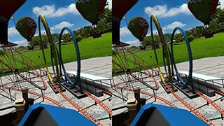 VR Crazy Rollercoaster скриншот 3