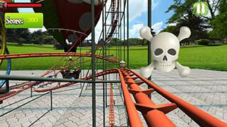 VR Crazy Rollercoaster скриншот 4