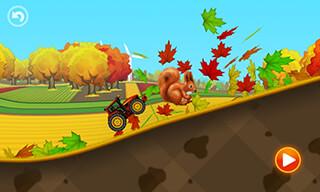 Tractor Hill Racing скриншот 1