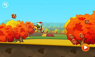 Tractor Hill Racing скриншот 3
