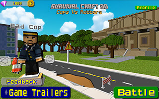 Cops vs Robber: Survival Gun 3D скриншот 1