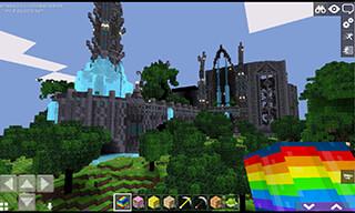 Cartoon Craft: Castle World PE скриншот 1