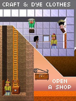 The Blockheads скриншот 3
