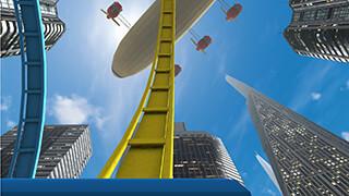 VR Roller Coaster скриншот 4