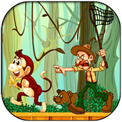 Jungle Monkey Run иконка