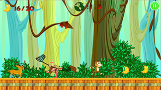 Jungle Monkey Run скриншот 2