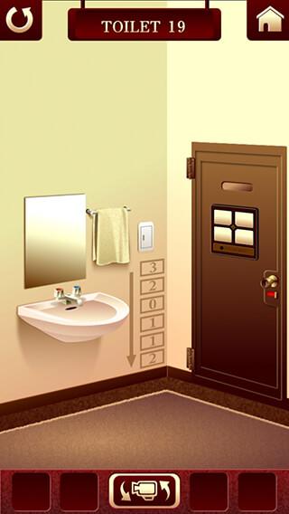 100 Toilets: Room Escape Game скриншот 4