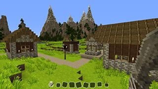 Pixel WorldCraft: Story Mode скриншот 1