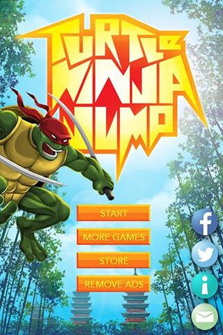 Turtle Ninja Jump скриншот 1