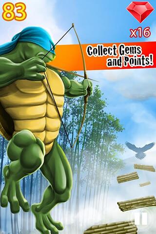 Turtle Ninja Jump скриншот 2