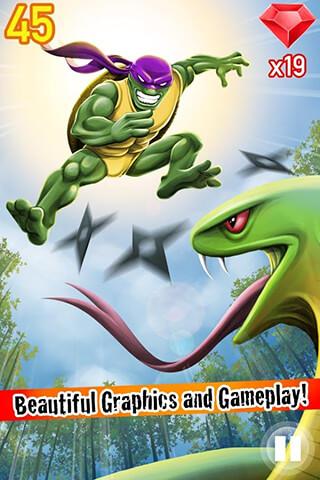 Turtle Ninja Jump скриншот 3