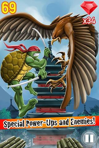 Turtle Ninja Jump скриншот 4