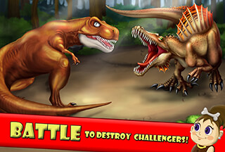 Dino World: Jurassic Builder 2 скриншот 2