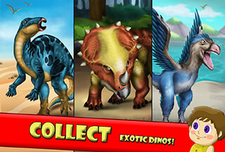 Dino World: Jurassic Builder 2 скриншот 3